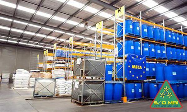 cơ sở sản xuất hóa chất công nghiệp