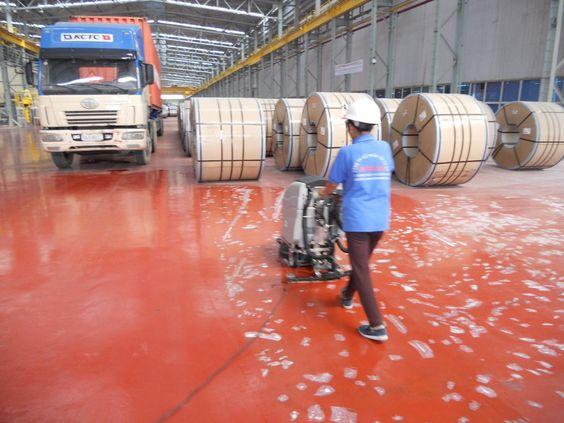 Cung cấp hóa chất tẩy rửa vệ sinh công nghiệp