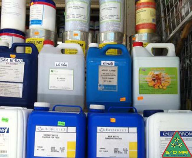Địa điểm bán lẻ hóa chất công nghiệp