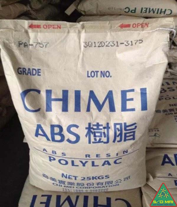 Nhựa nguyên sinh ABS PA757/Nhựa Acrylonitrile Butandien Stryren PA757
